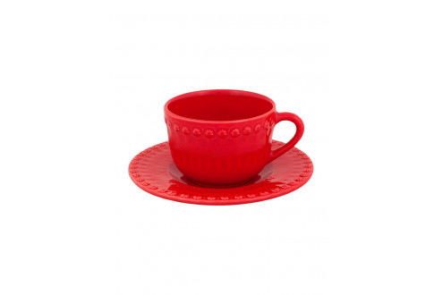 Chávena chá c/pires chá Vermelho