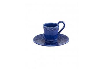 Chávena Café c/ Pires Azul  Indigo