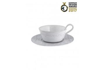 Chávena Chá c/ Pires Branco Antique