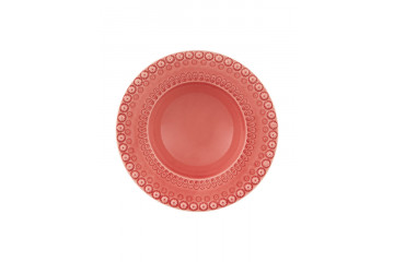 Prato de Sopa Rosa