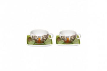 Conj. 2 P. Chávenas Chá