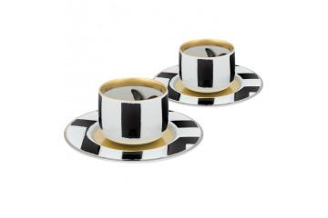 Conj. 2 P. Chávenas Café