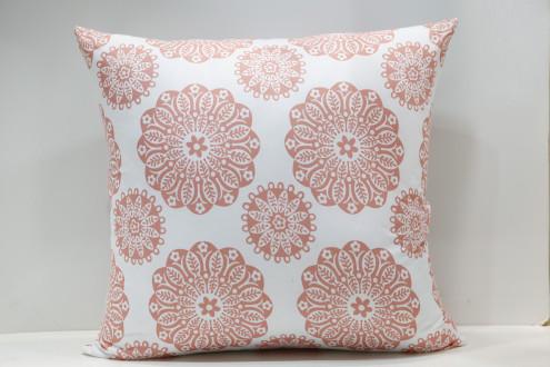 Cojin Flor Coral