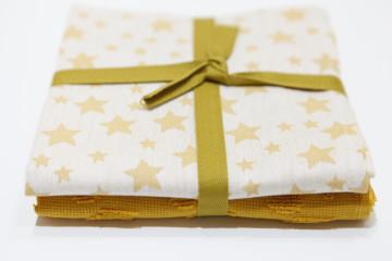 Pack 2 Panos Cozinha - Estrelas Amarelo