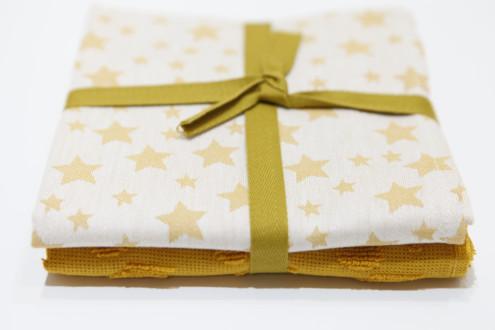 Pack 2 Paños Cocina - Estrellas Amarillo