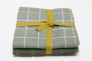 Pack 2 Panos Cozinha - Quadros Verde
